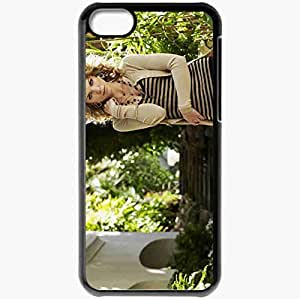 Personalized iPhone 5C Cell phone Case/Cover Skin Annalynne Mccord Black