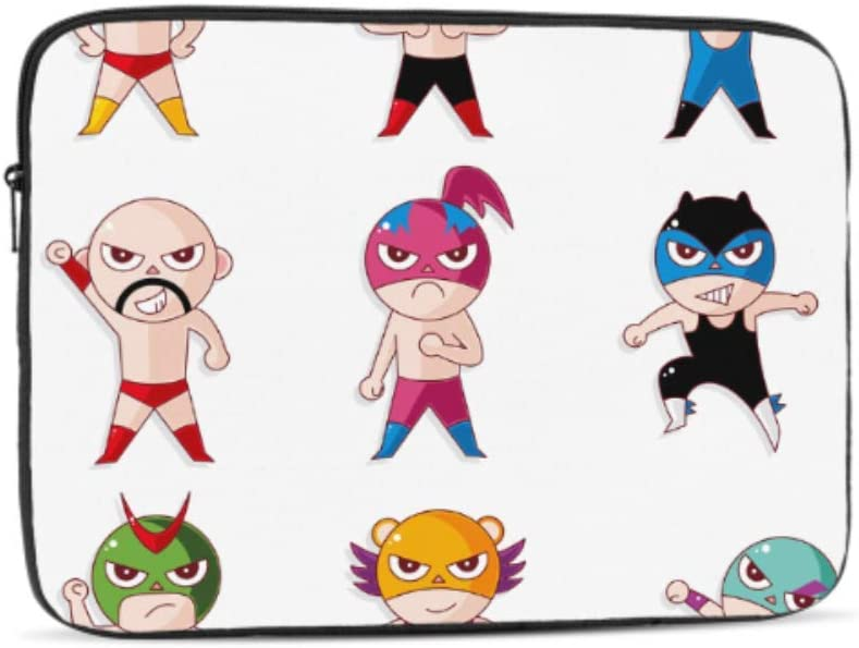 Designed to Fit Any Laptop//Notebook//ultrabook//MacBook with Display Size 11.6 Inches Cute Superhero Kids Pattern Neoprene Sleeve Pouch Case Bag for 11.6 Inch Laptop Computer