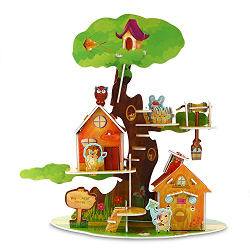 Puzzle Jigsaw Educational Treehouse Assemble product image