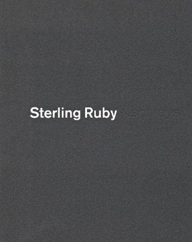 Sterling Ruby - Ashtrays by Various (2011-01-06) (Sterling Ashtray)