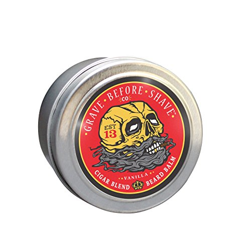 GRAVE BEFORE SHAVE Cigar Blend Beard Balm (Cigar/Vanilla scent) (2 ()