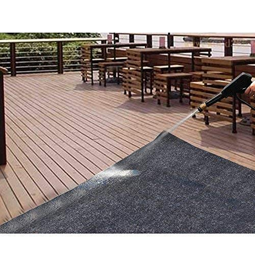 Under the Grill Mat,BBQ Grilling Gear for Gas/Electric Grill–Absorbent Grill Pad Lightweight Washable Floor Mat to Protect Decks and Patios from Grease Splatter and Other Messes (Grill Mat 36'' x 72'') by CONVELIEF (Image #1)