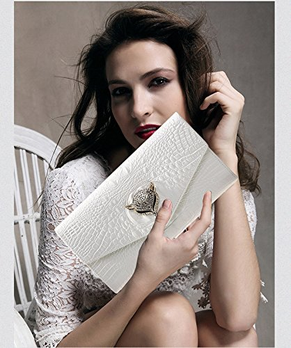 Mujer Tooky De Blanco Para Mano Cartera qn7wx4T