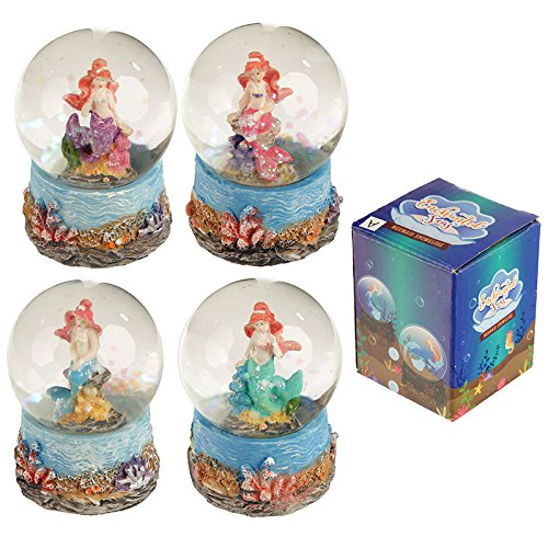 Mini Mermaid Waterball Snow Globe Puckator