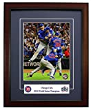"""The Chicago Cubs - 2016 World Series Champions! Framed 8x10 Photo """"The Last Out!"""""""
