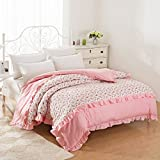 Cotton quilt cover,Quilt cover Single [single or double] The spring and autumn period [korean version] Thicken-L 220x240cm(87x94inch)