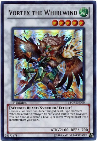 - YuGiOh 5D's Storm of Ragnarok Single Card Vortex the Whirlwind STOR-EN000 Super Rare by Yu-Gi-Oh!