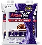 EAS AdvantEDGE Carb Control Rich Dark Chocolate Carton Ready To Drink, 11-Fluid Ounce, 24 Count