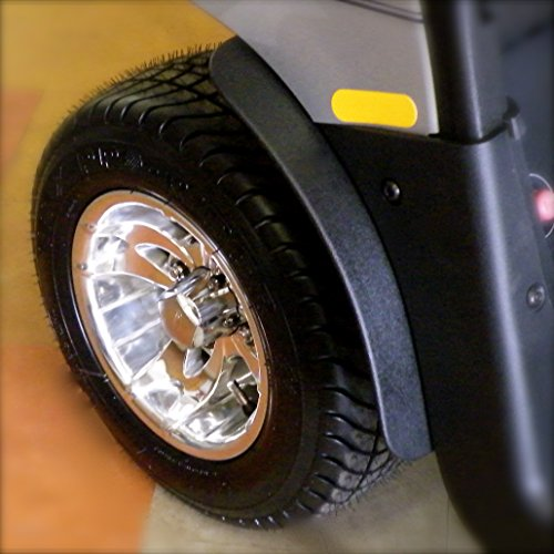 GMT Inc E-Z-Go RXV Golf Cart Fender Flares to fit 2015 and up Model - Mud Flaps Golf