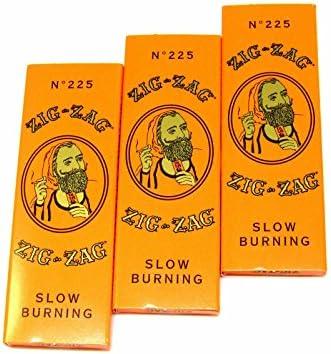 3 paquetes Zig Zag naranja papel de liar – 32 papeles a Pack-1 1/4: Amazon.es: Hogar