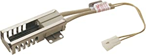 "Edgewater Parts W10918546 Flat Range Igniter 10"" Lead 1-1/2"" Block Compatible with Whirlpool, Amana, Estate, Roper, Magic Chef, and Maytag"