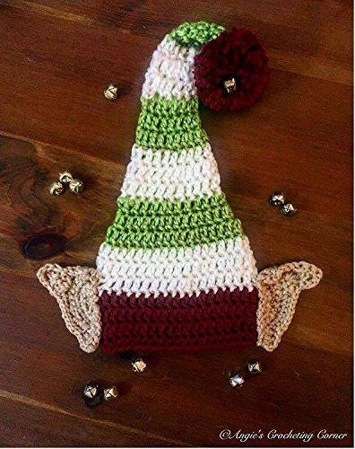 Amazon.com  Crochet Elf Ear Hat e4ceff479ad