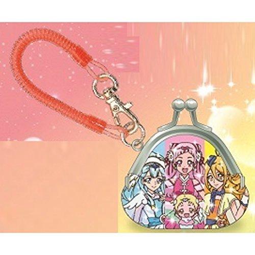 Rainbow Coil - MORIMOTO SANGYO (MORIMOTOSANGYO) Hug PreCure mini purse with coil Rainbow design 061931