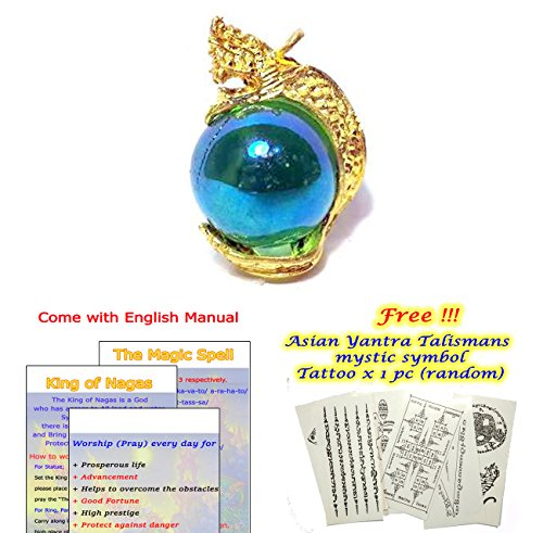 """John The Disciple Costume (Pendant King of Naga Hold the Magic Good Luck Marble Size 1.10"""" (Get Better Fortune & Get more affectionate): Passed Consecrate from the High Lord)"""