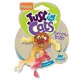 Hartz Just For Cats Screw Balls Cat Toy, My Pet Supplies