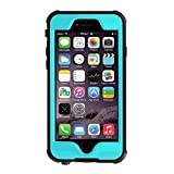 Best Waterproof Case for iPhone 6s/6 4.7 Inch Slim Defender Fully Sealed Underwater Shockproof Snowproof Dirtpoof Protective Luxury Cover for apple iPhone 6 / 6s 4.7 inches [NEW ARIVAL] (TURQUOISE)