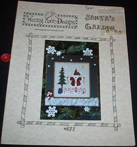 Santa's Garden (Pattern #071) - Counted Cross Stitch (Counted Stitch Designs Cross Moon)