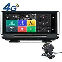 junsun 4G 7inch Car DVR Camera Android 5.0 Dash Cam Dual Lens camera Car GPS Navigator