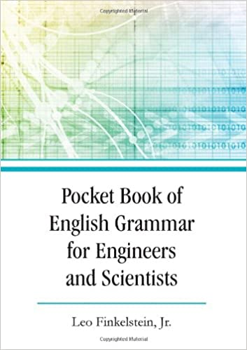 Pocket Book of English Grammar for Engineers and Scientists: Leo ...