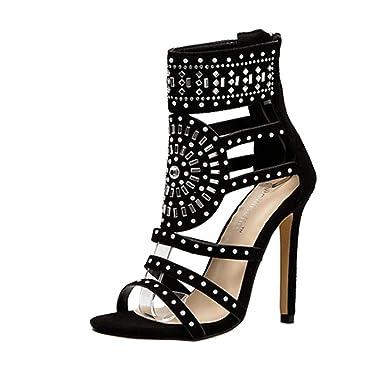 Covermason Zapatos Tacón alto mujer verano 2018, vestir de ...