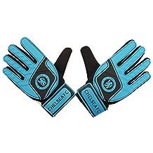 Chelsea FC Childrens/Kids Official Football Crest Goalkeeper Gloves (Youth) (Blue/Black)