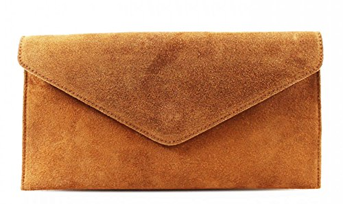 italien à de mariage Véritable en main LeahWard Party d'enveloppe bourse Camel cuir d'embrayage Suede de Sacs 4BgwqI
