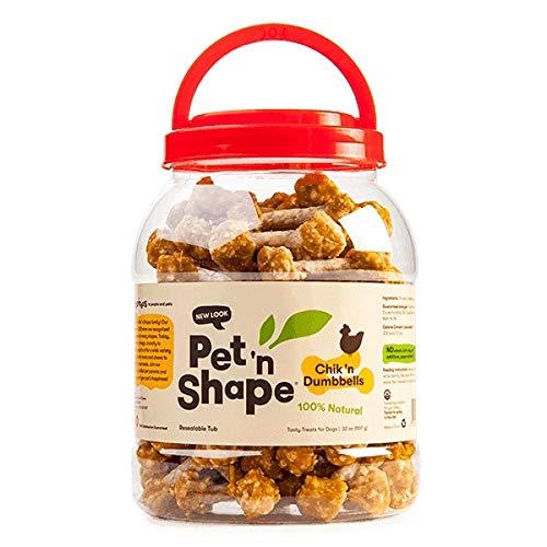 Pet 'n Shape Chik 'n Dumbbells (32 oz) by Pet 'n Shape