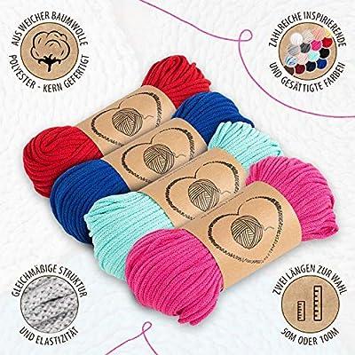 hilo macrame 5 mm trapillo bobinas - cuerda algodon cordon para ...
