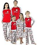 Best Christmas Family Pajamas - SleepytimePjs Christmas Family Matching Fleece Santa Pajama PJ Review