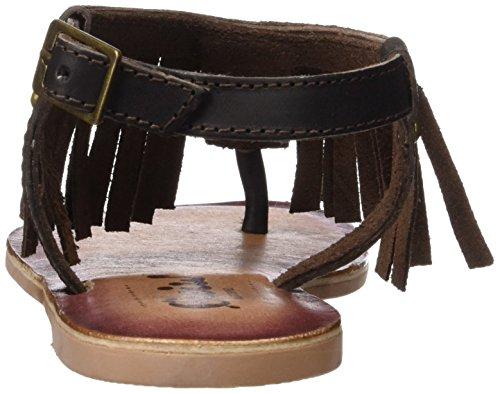 Cheiw Diviso Marrone Per 47085 Sandali Scuro Bambina Napa arpaw