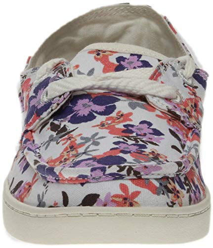 Sail Floral Waikiki Prints O Women's Sanuk Liberty Boat Shoe Pair q6Oz1Ot