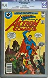 ACTION COMICS #499 CGC 9.4 WHITE PAGES