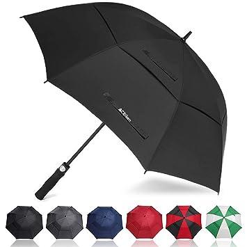 Amazon.com: ACEIken - Paraguas de golf resistente al viento ...