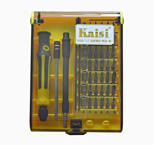kaisi 45in 1 professional portable opening precision screwdriver hand tools kit set car hand. Black Bedroom Furniture Sets. Home Design Ideas