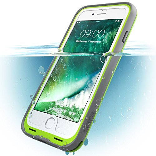 i Blason iPhone7 WaterProof Case Green Waterproof Full body Rugged