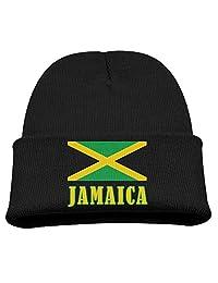 Beanie Knit Cap Jamaica Flag National Pride Country Fashion Child
