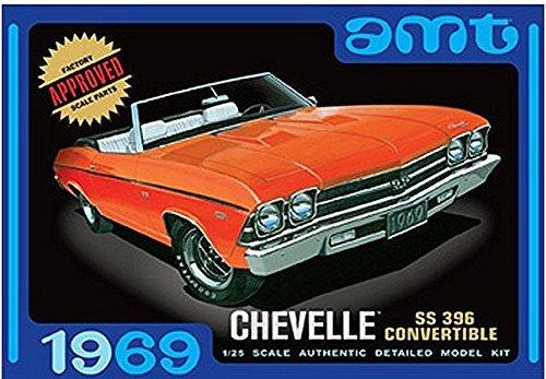 1/25 1969 Chevrolet Chevelle Convertible SS396 (Chevrolet Chevelle Convertible)