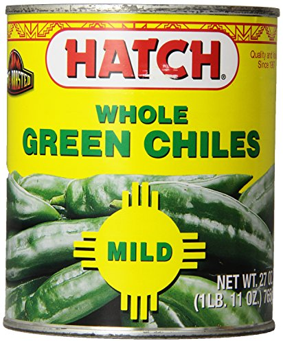 Hatch Chile Company Hatch Whole Green Chilies, 27-Ounce (Pack Of - Pepper Chile Jalapeno