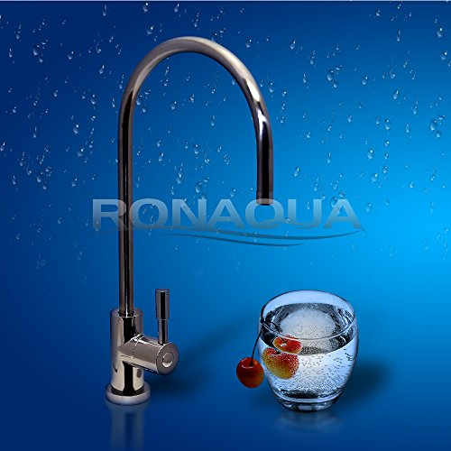 Ronaqua Water Filter Purifier Faucet European Style Polished Chrome - smallkitchenideas.us