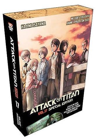 Attack on Titan 17 Special Edition w/DVD (Attack In Titan Dvd)