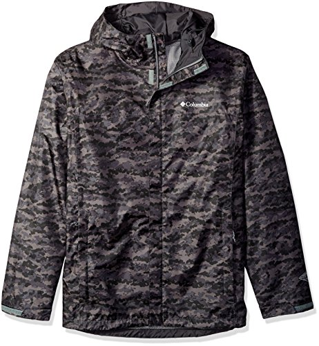 Columbia Men's Big and Tall Watertight Printed Jacket, Shark Camo, 3X