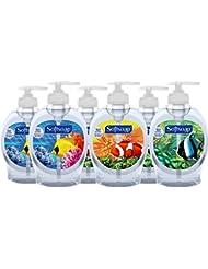 Softsoap Liquid Hand Soap, Aquarium - 7.5 fluid ounce (Pack of 6)