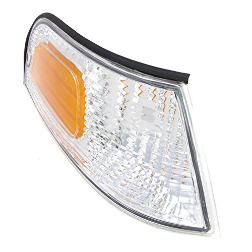 CarPartsDepot, Right Passenger Side Marker Parking Light Lamp RH, FR233-U000R FO2521147 XW7Z (Crown Side Marker Assembly)
