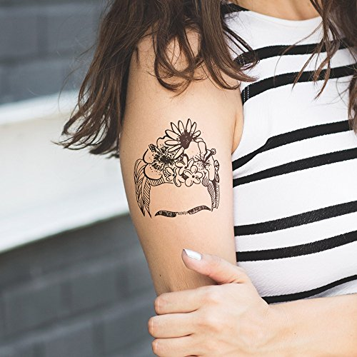 Frida - Tatuaje temporal: Amazon.es: Handmade