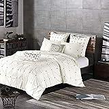 3 Piece Comforter Mini Set Full/Queen/White