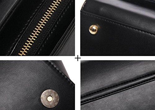 FZHLY Nuovo Gnocchi In Stile Borse Coreano Moda Tracolla Portatile,Brown