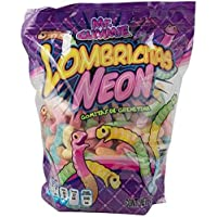 Mr. Gummie Lombricitas Neon Gomitas 2.5 Kilos