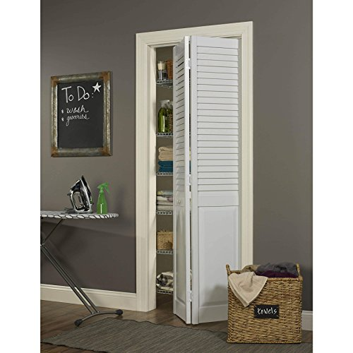"LTL Home Products, Inc. Seabrooke 30""w x 80""h White PVC L..."