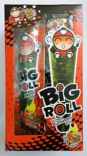 Tao Kae Noi: Big Roll Crispy Grilled Seaweed, 10 count (Tom Yum) (Crispy Rolls)
