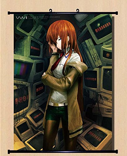 """Steins; Gate Anime Game Fabric Wall Scroll Poster (16"""" x 22"""") Inches"""